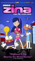 Zina and the Vivid Crew (2004) VHS Cover Art