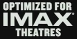 Optimized for IMAX Theaters logo from Pico
