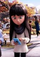 Addie McCallister from the infamous Emoji Movie