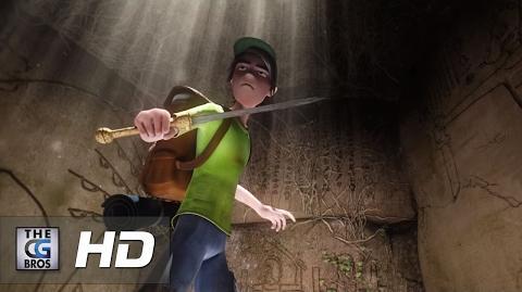 "CGI 3D Animated Short Film HD ""Ruins"" - by Daniel Ueno"