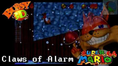 -SM64 Custom Music- Bubsy 3D - Claws of Alarm