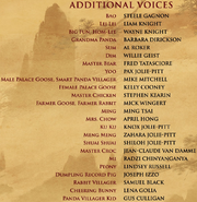 Kung fu panda 3 additional voices