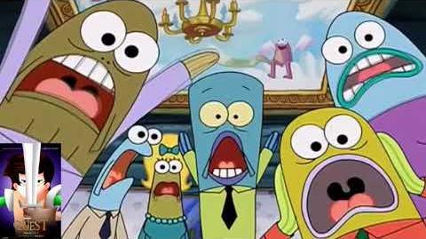 Gingo Animation Movies Protrayed by Spongebob