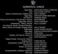 Shrek 3 additional voices