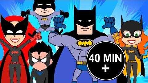 Batman Finger Family Nursery Rhyme Song I Children Rhymes I Kindergarten Baby Kids Toddler Songs