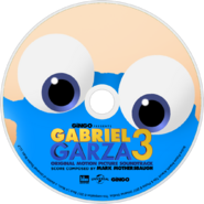 Gabriel Garza 3 (2017) Soundtrack disc