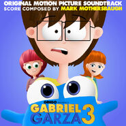 Gabriel Garza 3 (2017) Soundtrack Cover