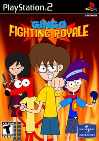 Gingo Fighting Royale (2002) PS2 Cover Art NTSC