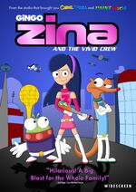 Zina and the Vivid Crew (2004) DVD Cover Art