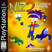 Niz 2 - The Journey of Nonsensical PS1 Cover Art NTSC