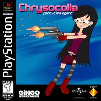 Chrysocolla - Part-Time Agent PS1 Cover Art NTSC