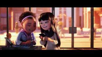 The Emoji Movie but when Addie McCallister is on screen