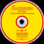 The Planetokio Movie (2015) Soundtrack disc