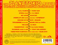 The Planetokio Movie (2015) Soundtrack back cover