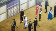 Sougo, Gintoki, Kagura, Tetsuko and Shinpachi Episode 334