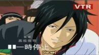 Silver soul's Gintoki Sakata with Black Butler's Sebastian's wig