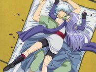 Gintoki and Sarutobi Episode 22