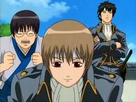 Shinpachi, Sougo and Hijikata Episode 18