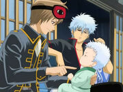 Sougo and Gintoki Episode 51