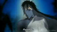 Gintoki with Final Getsuga Tensho