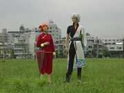 Kagura and Gintoki Episode 165