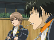 Sougo and Hijikata Episode 10 Woof