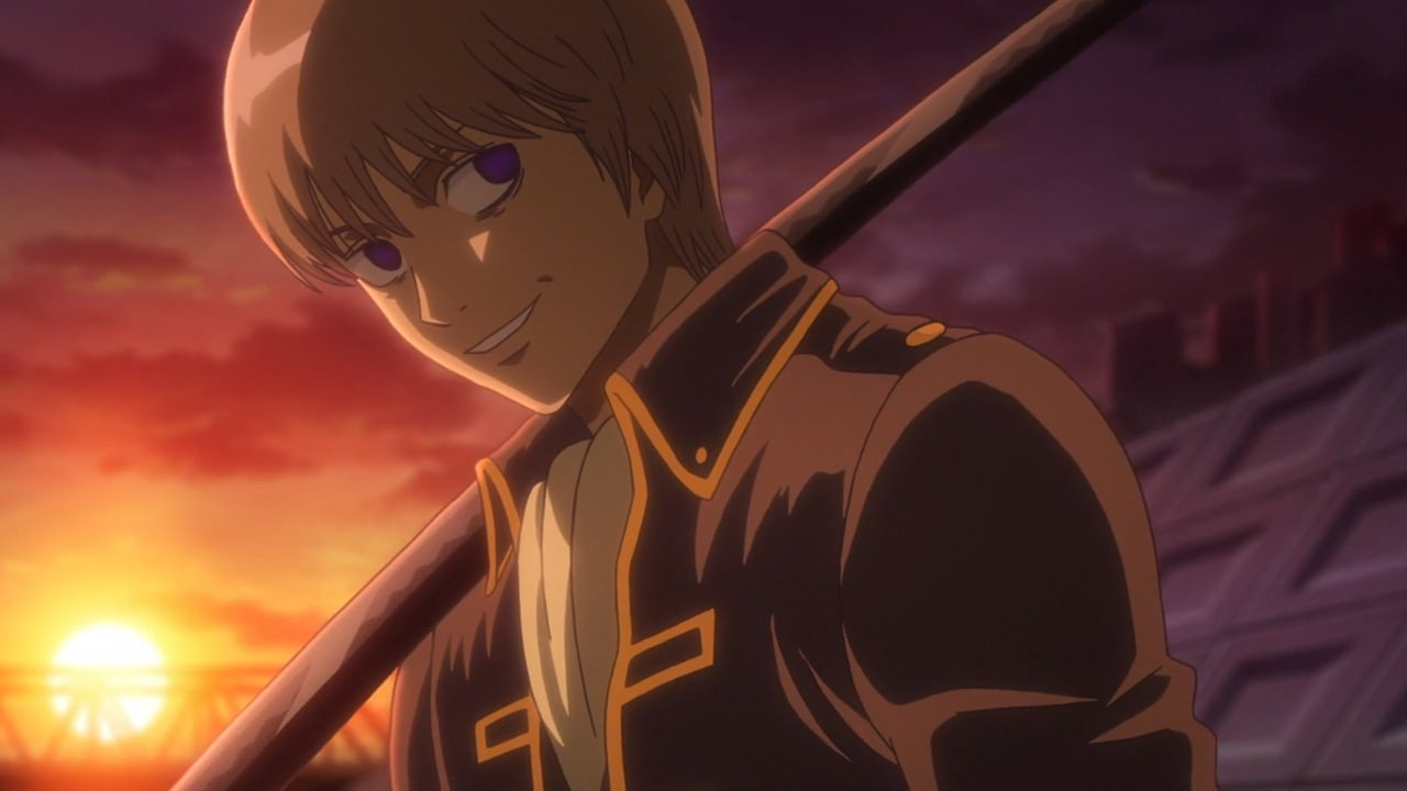 Sougo been possess by Maganagi Episode 336