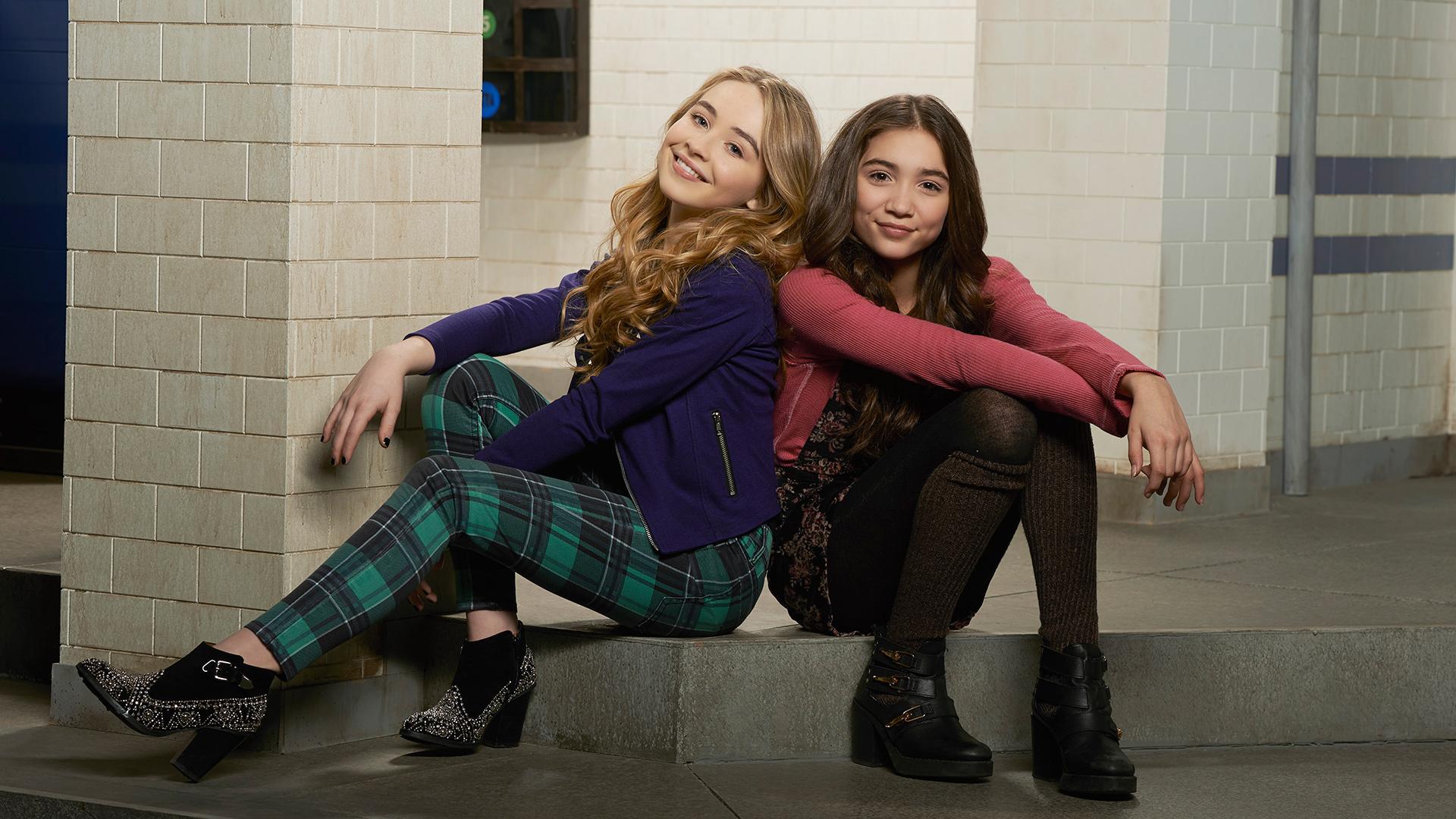 Riley And Maya Kiss