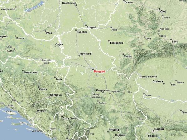 Belgrade-map