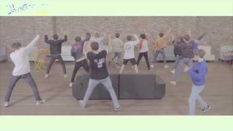 -Dance Practice- SEVENTEEN(세븐틴) - 예쁘다 (Pretty U) Dancecal 'LETTER ver