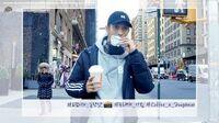 INSIDE SEVENTEEN 정한&도겸의 아침 산책 in NY (Jeonghan&DK's morning walk in NY)