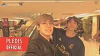 INSIDE SEVENTEEN Wonwoo Film in Dubai 🎬