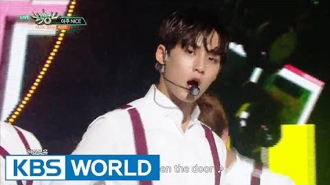 SEVENTEEN - VERY NICE 세븐틴 - 아주 NICE Music Bank 2016.07