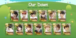 SuperStarPLEDIS Our Dawn Is Hotter Than Day