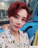 Jeonghan IG Update 180719