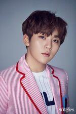 Seungkwan Singles Magazine May