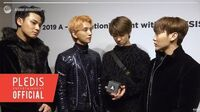INSIDE SEVENTEEN 2019 A-Awards Behind