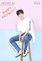 20191230 Happy Joshua's Day
