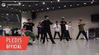 INSIDE SEVENTEEN 2019 SBS 가요대전 안무 연습 비하인드 (2019 SBS K-POP AWARDS Dance Practice Behind)
