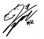 Jeonghan Signature