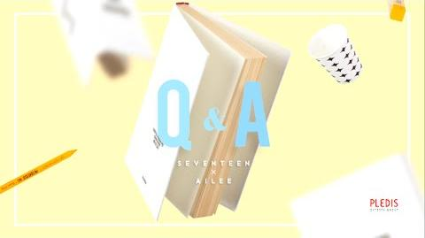 V- SEVENTEEN(세븐틴) & Ailee(에일리) - Q&A