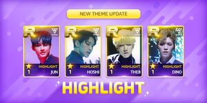 HIGHLIGHT card theme