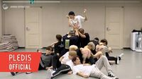 INSIDE SEVENTEEN '독 Fear' Dance Practice Behind