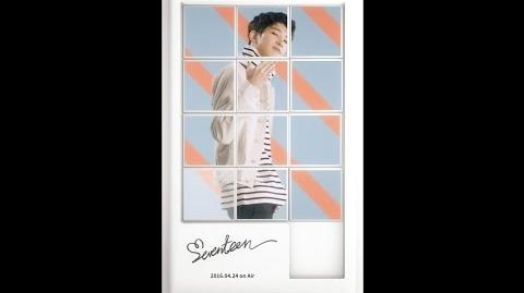 WONWOO- SEVENTEEN(세븐틴) - FIRST ALBUM LOVE&LETTER