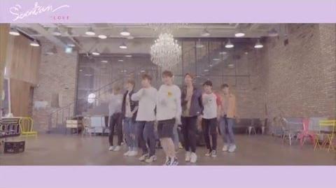 -Dance Practice- SEVENTEEN(세븐틴) - 예쁘다 (Pretty U) Dancecal 'LOVE ver
