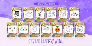 SuperStarPLEDIS Seventeen drawing