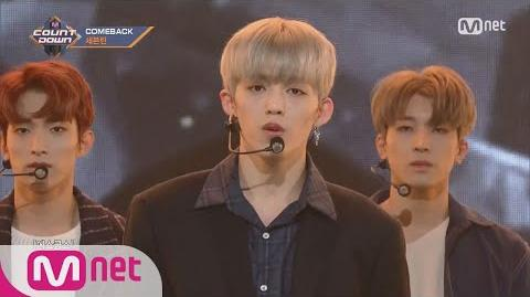 -SEVENTEEN - Without You- Comeback Stage - M COUNTDOWN 171109 EP