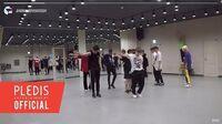 INSIDE SEVENTEEN 'HIT' Dance Practice Behind