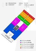 IDEALCUTinKL seat plan