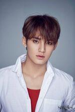 Mingyu Singles Magazine May